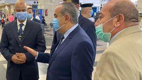 جولة تفقدية مفاجئة لوزير الطيران المدني بمطار القاهرة الدولي