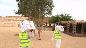 «صناع الدفا» توزع 1000بطانية لمواجهة الشتاء في قرى الأقصر