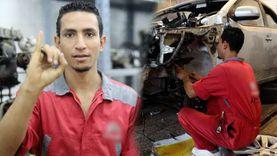 أحمد تحدى الصمم و أصبح بريمو في الميكانيكا: بتواصل بلغة الشفايف