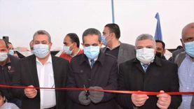 محافظ الغربية يفتتح مسجد و3 محطات للصرف الصحي بمركز قطور