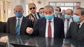 وزير التموين ومحافظ الإسماعيلية يتفقدان مركز خدمة المواطنين