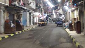 «لمة وهمة».. شباب العصافرة يدهنون شارعهم في رمضان: «شهر الجمال»