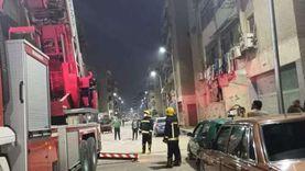 حريق في شقة بمدينة نصر.. و«الحماية المدنية» تدفع بسيارة إطفاء