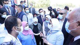 وزيرة الصحة توجه الأطقم الطبية بأهمية تقديم الدعم النفسي لمصابي كورونا