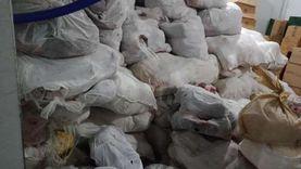 حبس صاحب شركة لحيازته 5 أطنان مواد غذائية فاسدة بالسيدة زينب