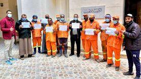 «إنجيلية بنها» تطلق مبادرة «جيش مصر البرتقالي» لدعم عمال النظافة
