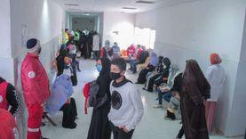 توقيع الكشف على 1000 حالة في قافلة طبية للهلال الأحمر بشمال سيناء