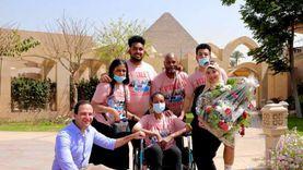 تنسيقية شباب الأحزاب تحقق حلم أمريكية مصابة بالسرطان بزيارة مصر «صور»