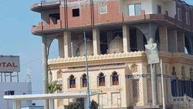 الوحدة المحلية بالرحمانية: إزالة المبنى المخالف أعلى المسجد