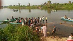 «غواصين الخير» من 3 محافظات يواصلون البحث عن جثة طالب بنها