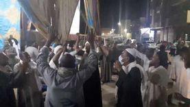 """احتفالات الفوز بمقاعد """"النواب"""" في أسوان"""