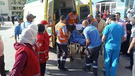 عاجل.. وصول المصاب الرابع من قطاع غزة لمستشفى العريش
