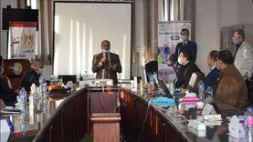 ميكنة إجراءات العمل بإدارات التوعية بشركات مياه الشرب والصرف الصحي