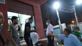 حملات لمتابعة إجراءات غلق المحلات بأسيوط وضبط 14 مخالفة