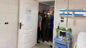 التفاصيل الكاملة لوفاة مصابين بكورونا في حريق مستشفى صدر كفر الشيخ