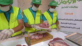 «الأورمان» تبدأ ذبح وتوزيع لحوم 20 عجلًا بقنا خلال رمضان