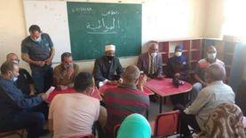 استئناف أعمال لجنة تعزيز المواطنة بـ14 قرية في المنيا