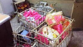 ضبط 1750 كيلو حلوى المولد غير صالحة للاستهلاك في سوهاج