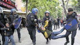 عنف في تركيا لفض احتجاجات بإسطنبول واعتقال العشرات