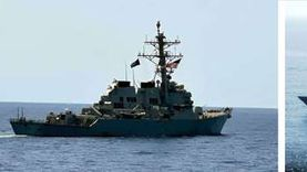 القوات البحرية المصرية والأمريكية تنفذان تدريبا بحريا عابرا