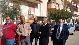 حملة لغلق المحلات غير المرخصة في دمياط