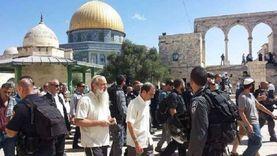 اقتحام جديد للمسجد الأقصى برعاية شرطة الاحتلال