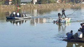 """انتشال جثة آخر ضحايا """"معدية البحيرة"""" بعد 30 ساعة من البحث المتواصل"""