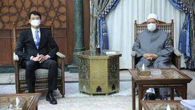 سفير كوريا الجنوبية لشيخ الأزهر: لدينا 160 ألف مسلم يعيشون في سلام