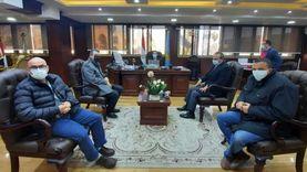 محافظ الغربية يستقبل المدير التنفيذي للمنطقة اللوجيستية بطنطا
