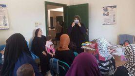 خدمات تنظيم أسرة وصحة إنجابية لـ 624 سيدة بمركز ملوي بالمنيا
