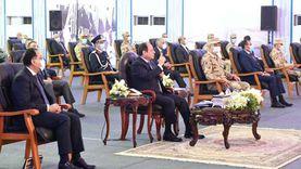 السيسي: نسعى لدفع الاقتصاد وتطوير الصناعة المصرية من خلال المشروعات