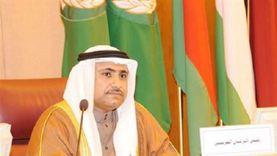 العسومي يتعهد بالعمل على صيانة الأمن القومي العربي