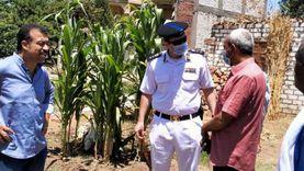إزالة فورية لـ 11 حالة تعد على أراض زراعية بالبداري في أسيوط