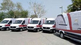 تسليم أول 10 سيارات مجهزة للعمل كأحياء متنقلة تقدم الخدمات للمواطنين