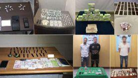 حملة أمنية لملاحقة متاجري المواد المخدرة وحائزيها في 17 محافظة