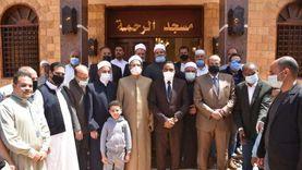 محافظ مطروح يفتتح مسجد الرحمة في حي الزهور بتكلفة 1.5 مليون جنيه
