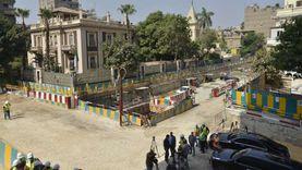"""استئناف حفر مترو صفاء حجازي بـ""""الزمالك"""" تجاه محطة الكيت كات أول أكتوبر"""