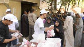 """""""مصر الخير"""" توزع لحوم الأضاحي على 34 ألف أسرة بالمنيا"""