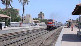 """""""السكة الحديد"""" تنفي  خروج قطار عن القضبان في شبين القناطر"""