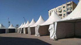 شاهد.. الصور الأولى لمعرض الكتاب بالإسكندرية استعدادا لاستقبال الناشرين