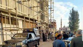 تشييع جثامين 3 عمال سقط بهم مصعد في مصنع بالشرقية