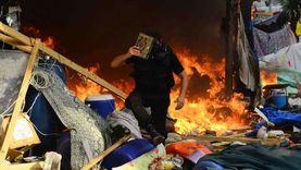 حكاية «عمارة المنايفة» حصن الإرهابيين في رابعة.. وشهود: كانت حرب