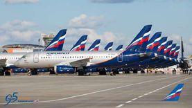 """""""إيروفلوت"""" الروسية تأمل في استئناف الحركة الجوية بحلول الربيع المقبل"""