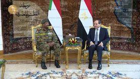 السيسي والبرهان من القاهرة: المياه أمن قومي لمصر والسودان