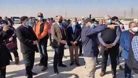 وزير الزراعة: الرئيس وجه بتبطين 20 ألف متر من الترع والمساقي