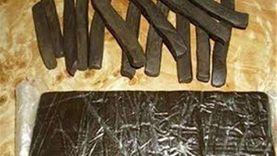 ضبط عاطل بحوزته 45 طربة حشيش بقصد الاتجار في الغربية