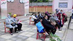 تزايد أعداد الناخبين بلجان البدرشين للتصويت في انتخابات مجلس النواب