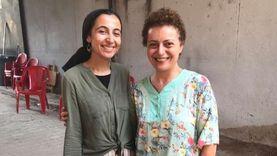 """هبة عبدالغني تنتهي من """"قهوة فريال"""": الحمد لله على نعمة الفن"""
