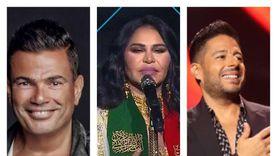 كواليس حفلات عيد السعودية الوطني: أحلام تبكي وحماقي ينسى كلمات أغنيته
