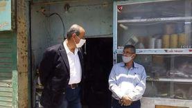 تحرير 16 مخالفة تموينية في حملة موسعة بمطاي بالمنيا